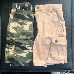 Bundle of boys size 6 shorts